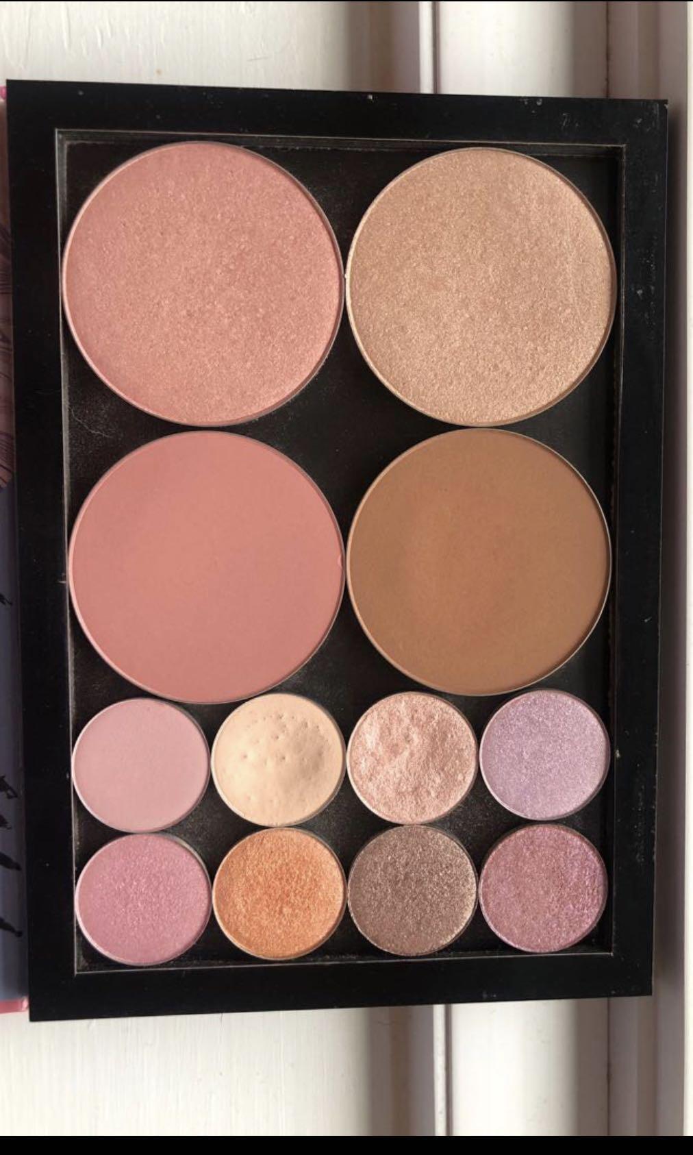 Makeup Lot Jeffree Star, Colourpop, Too Faced, Morphe.