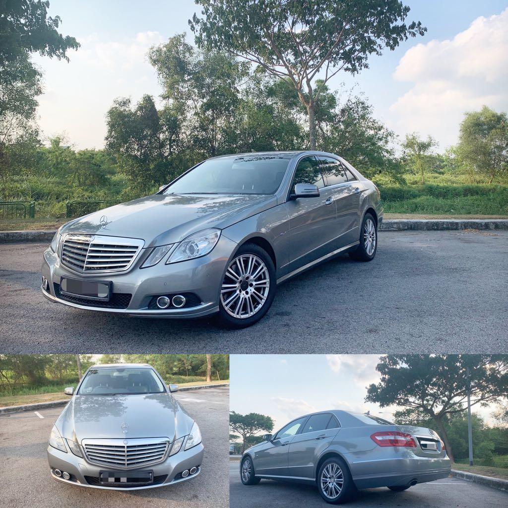 Mercedes Benz E250 CGI FOR LEASE