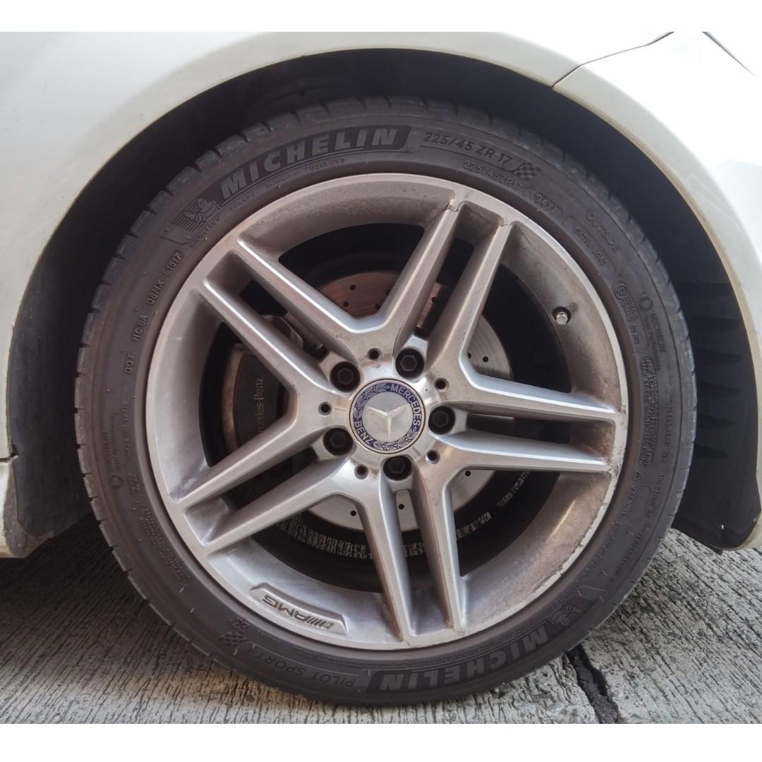 MERCEDES-BENZ C200 AMG EDITION 2013