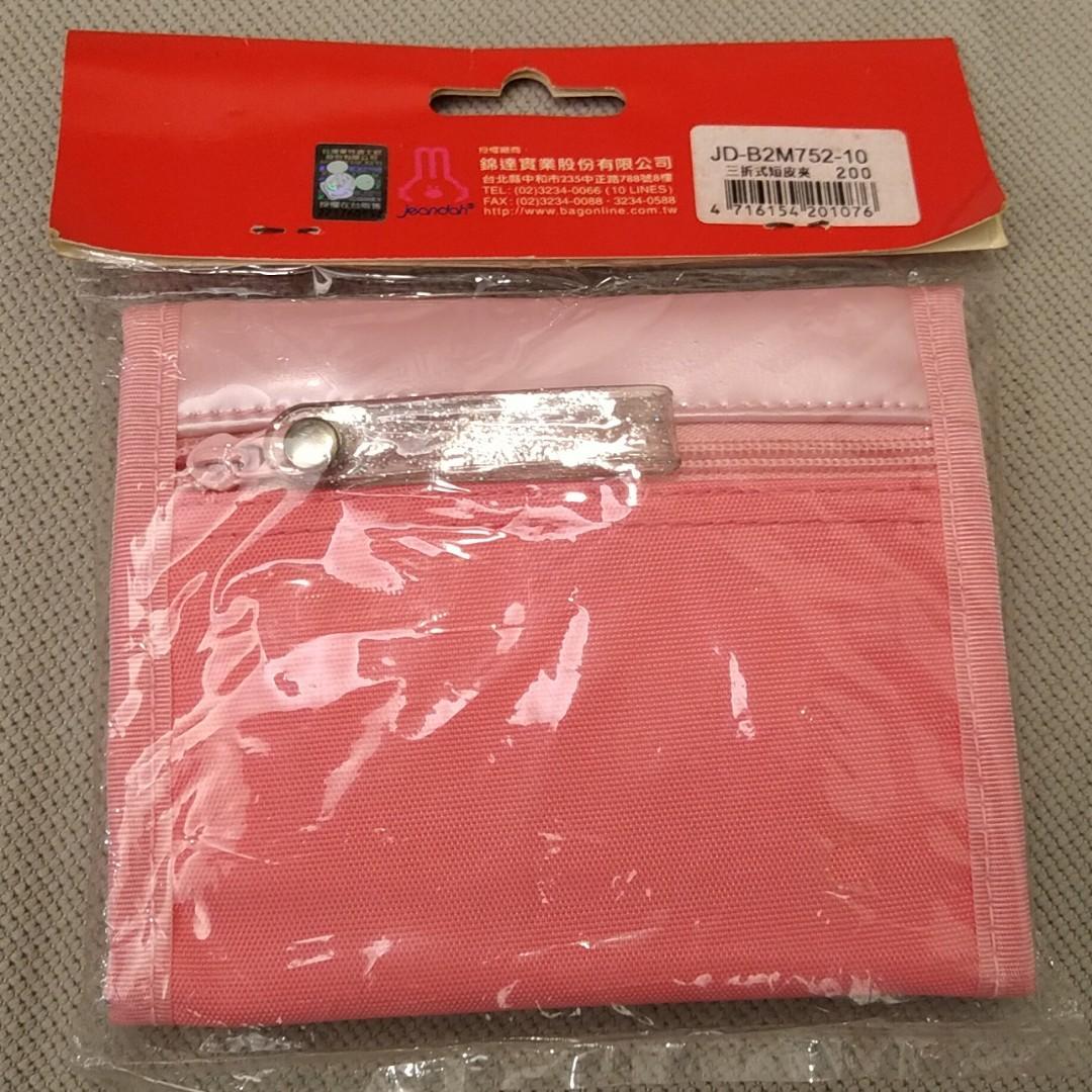 mickey kids 三折式短夾 女生錢包 女學生 簡約 折疊 零錢包 卡包