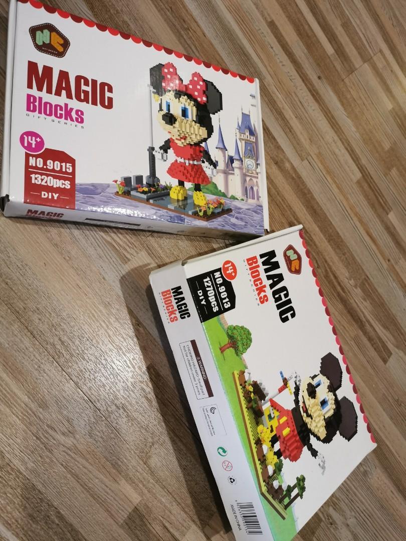 Mickey Minnie Magic Block