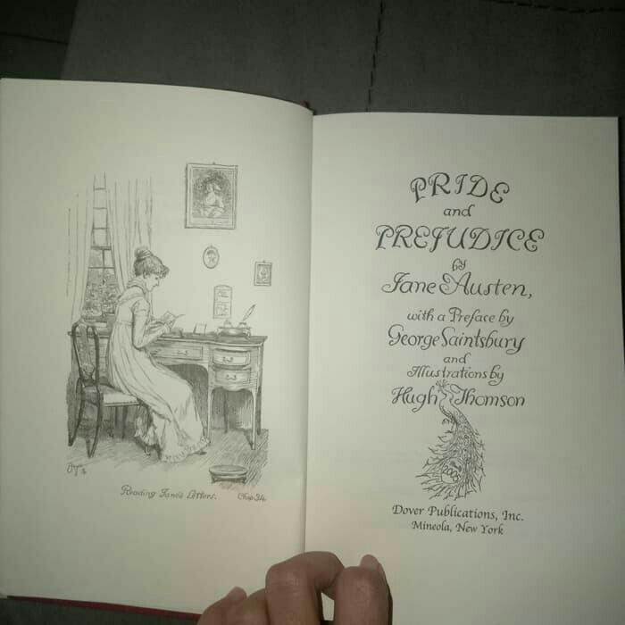 Novel Pride and Prejudice by Jane Austen English Version