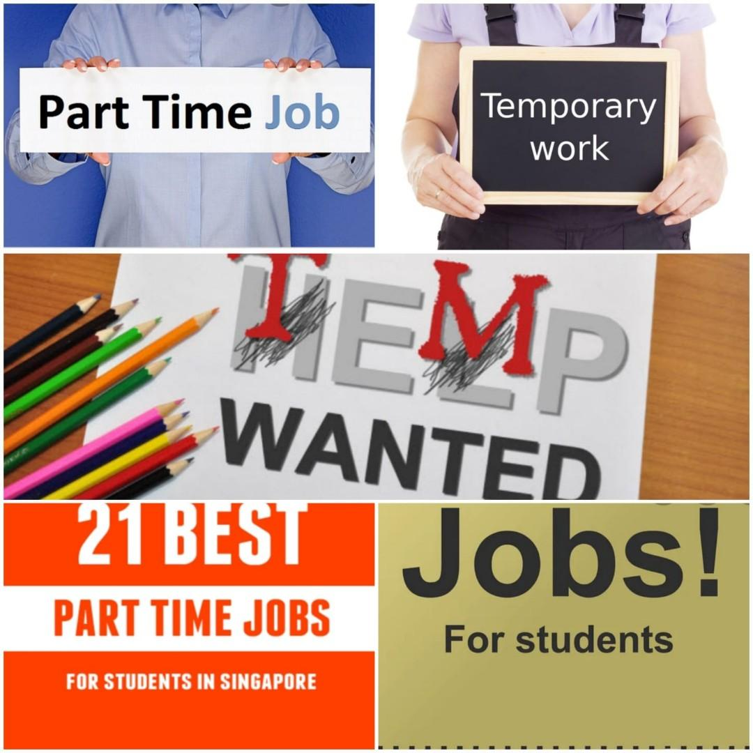 Part time / Temp Jobs