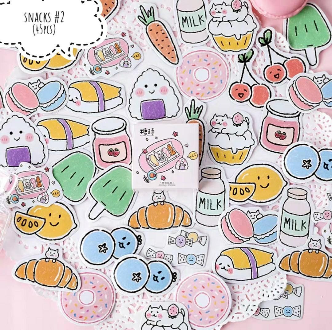 [S](#1-#2)Snacks stickers