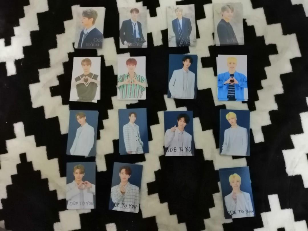 SEVENTEEN ODE TO YOU TRADING CARDS (PERFORMANCE TEAM)