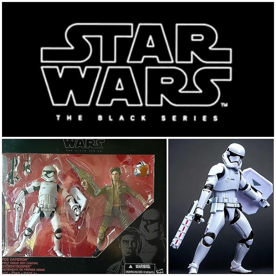3.75 star wars 7 premier ordre Riot Control Stormtrooper Lot de 2 action figures