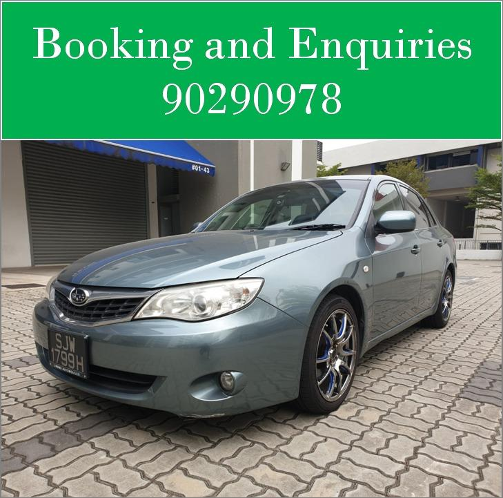 Subaru Impreza 1.6A - Cheapest rental in city, quickest assistance!