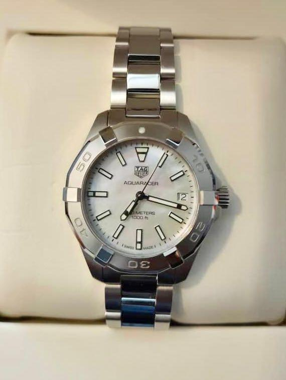 Tag heuer aquarecer women's authentic