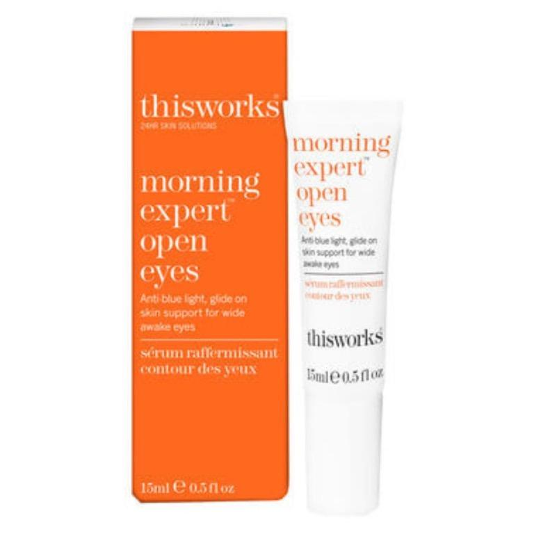 THIS WORKS Morning Expert Open Eyes Eye Cream RRP$59