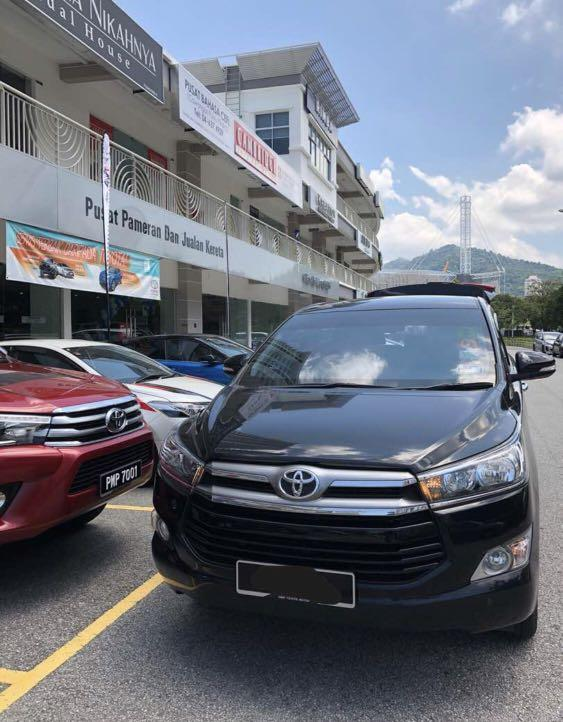 Toyota Innova 2.0G For Rent