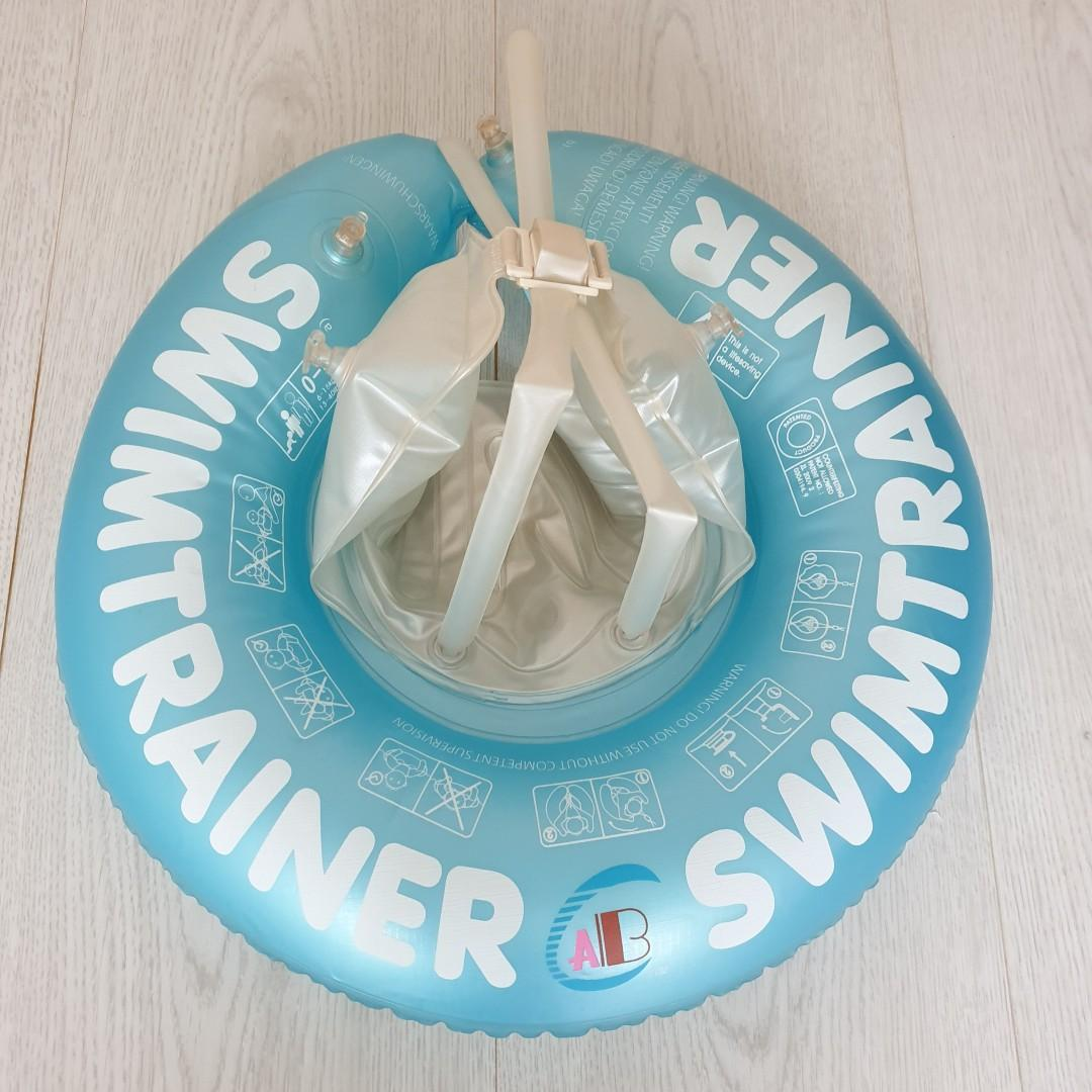 Up to 4 years old / 6-18 kg / Baby Toddler Children Swim Trainer Swimming Pool Ring Float