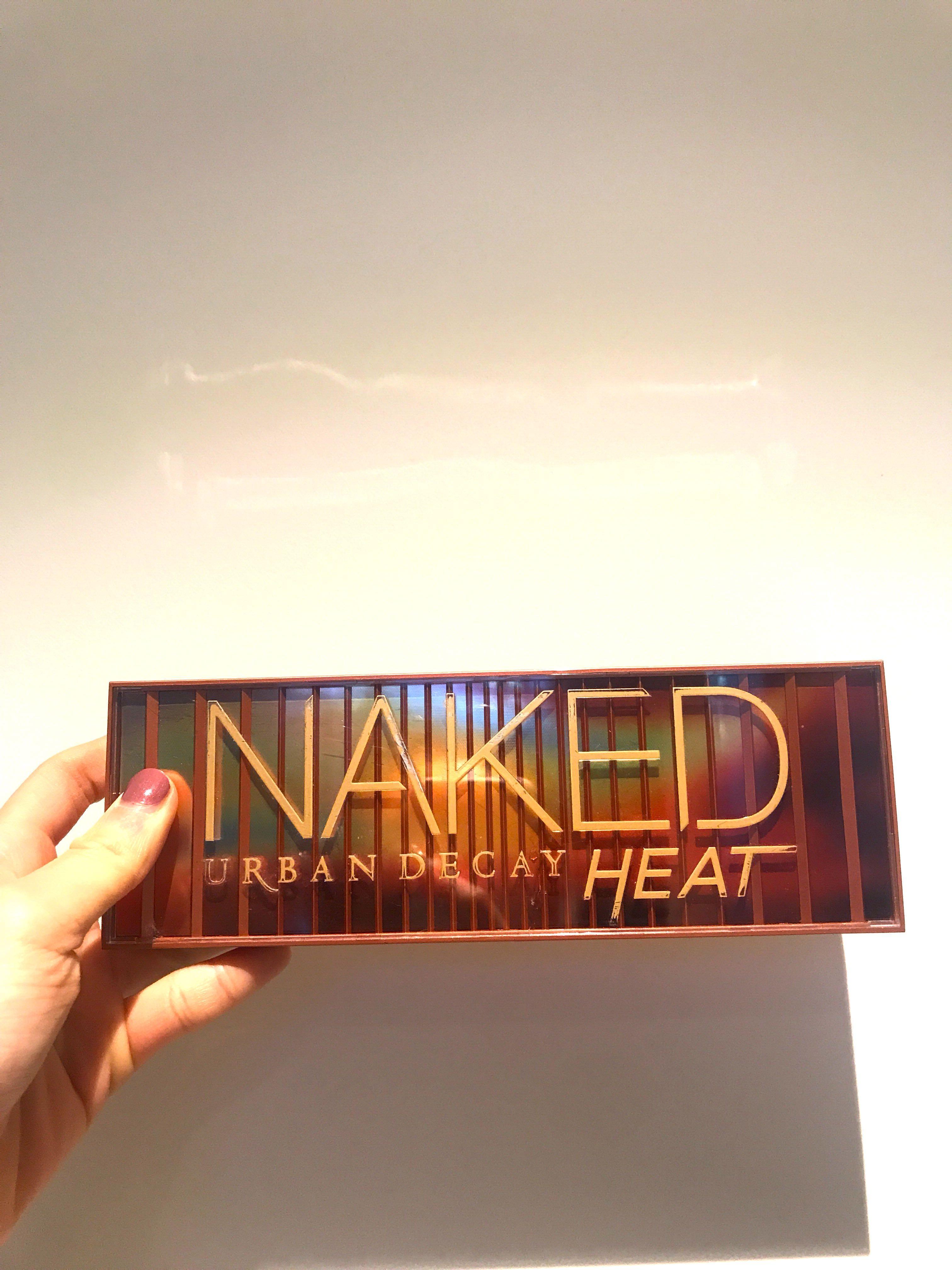Urban Decay Naked Heat Palatte eyeshadow