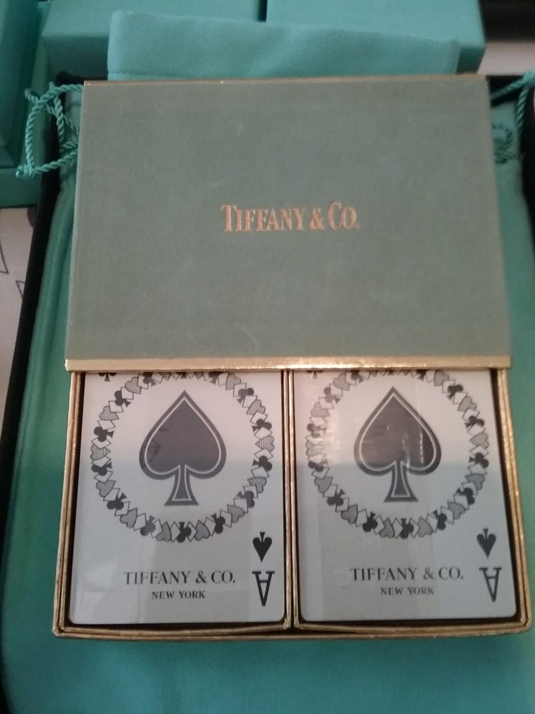 Vintage tiffany and co. Brand new unopened playing cards