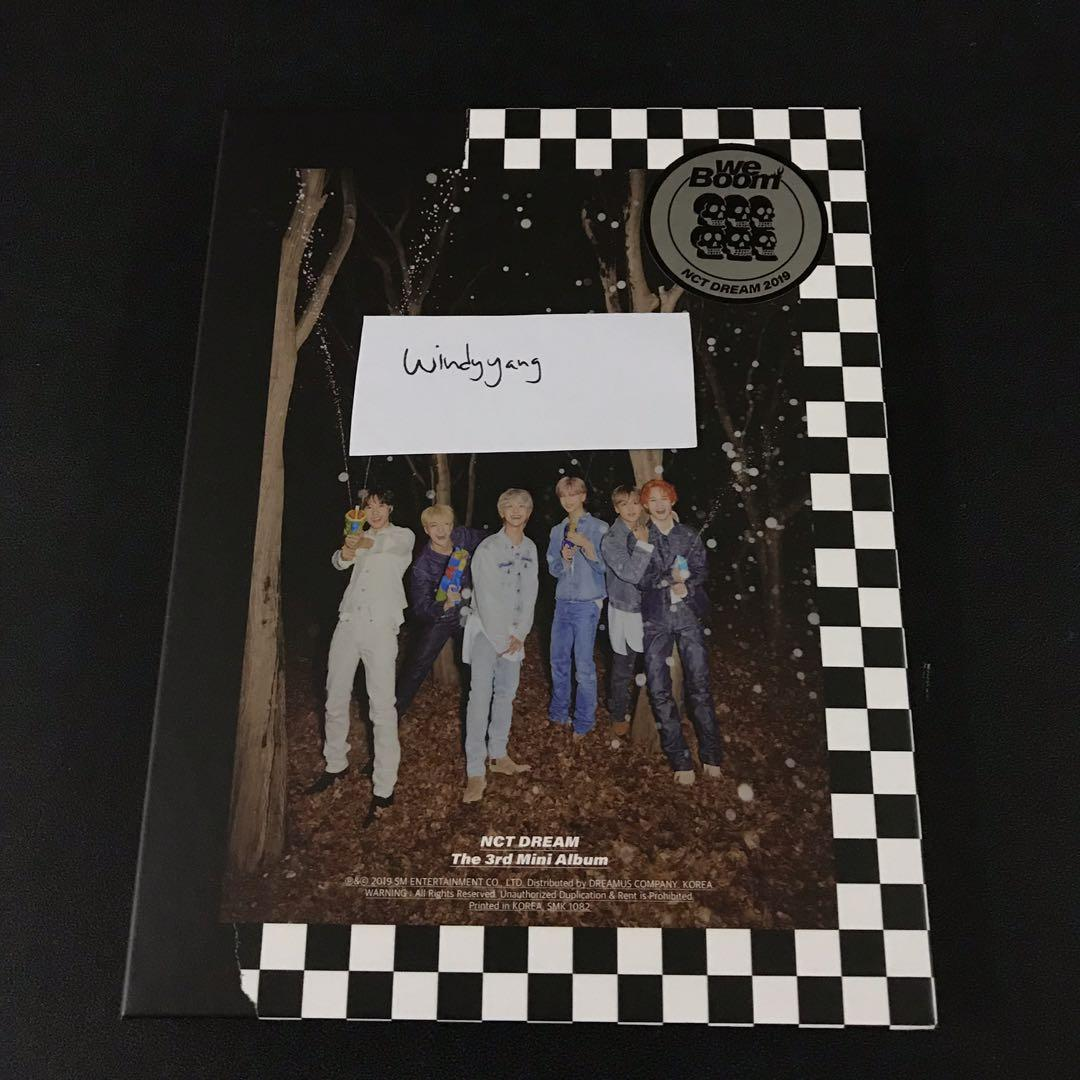 [WTS] NCT Dream We Boom Mini Album Only (Boom version)
