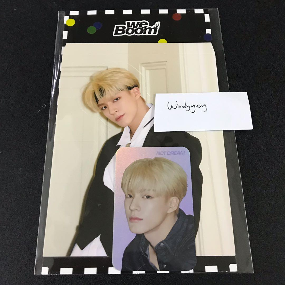 [WTS] NCT Dream We Boom Official Standee + Hologram PC Set