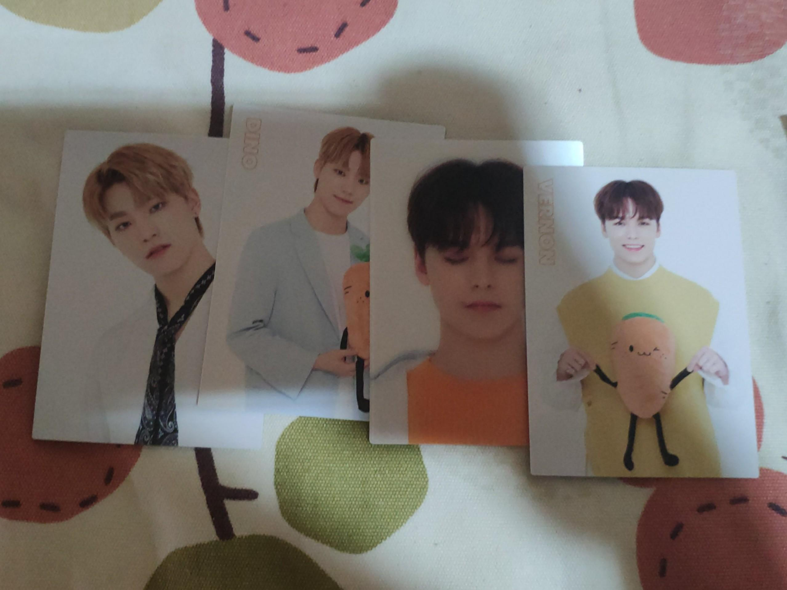 wts seventeen Happy ending showcase trading card