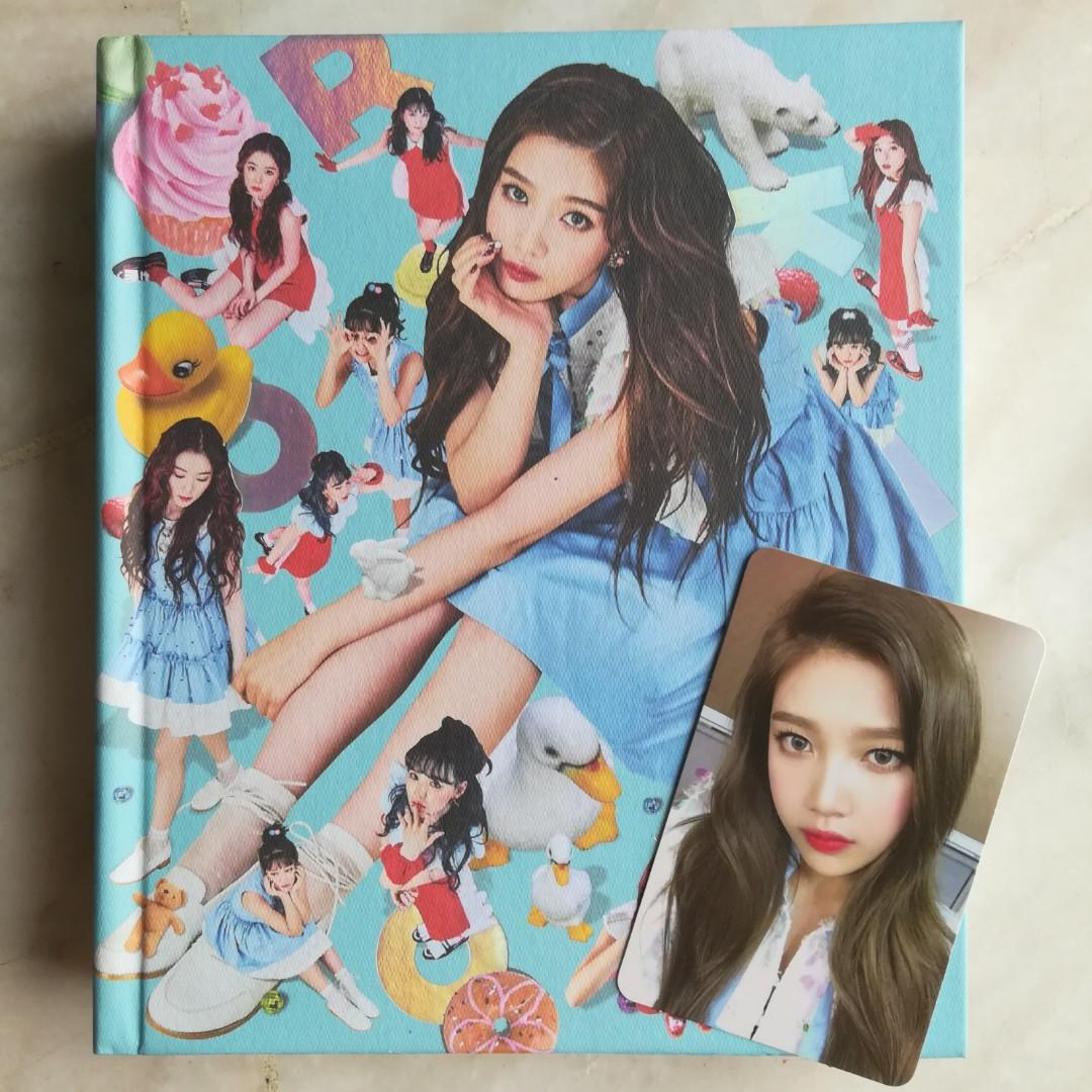 [WTS/WTT] Red Velvet ROOKIE album 【Joy ver full set】