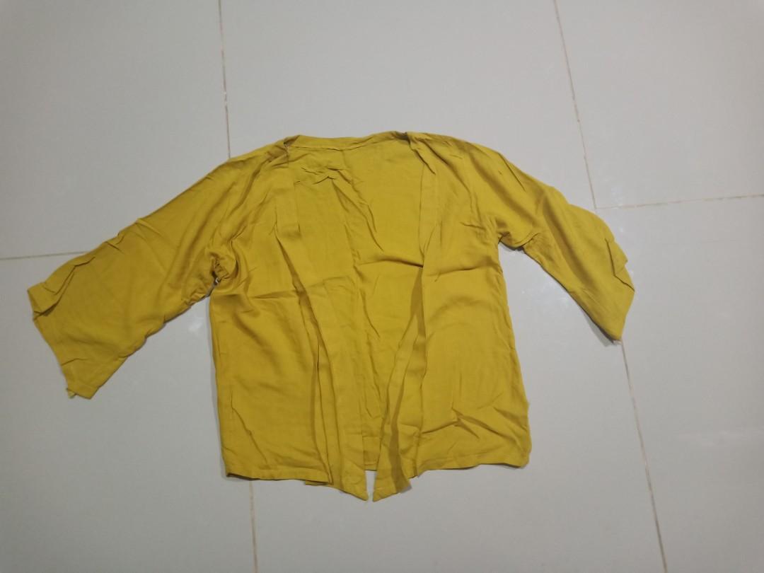 Yellow Cardigan+kemben