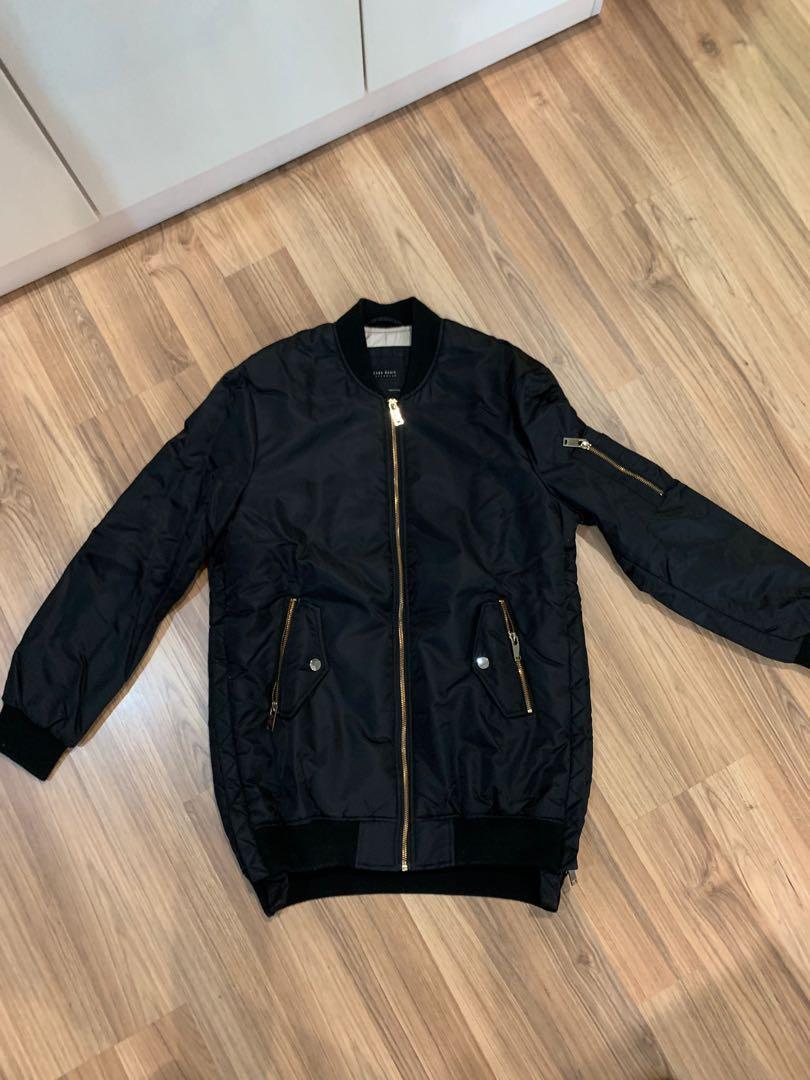 Zara bomber jacket (oversized)