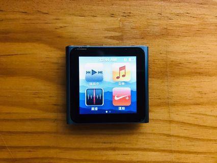 Ipod nano 6/8G/附遙控底座/掛繩/正品