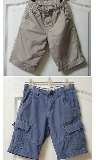 UNIQLO兒童短褲/S號 (二件ㄧ起賣)