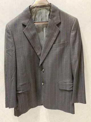真復古西裝外套 復古懷舊 時髦 設計 suit jacket real vintage