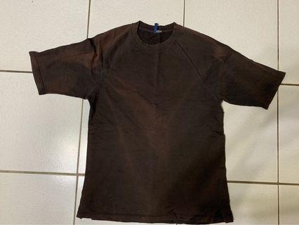 Zara oversized black T-shirt 寬鬆黑色上衣