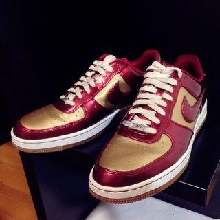 "Nike Af1 Downtown ""iron Man"" 限量鋼鐵人"