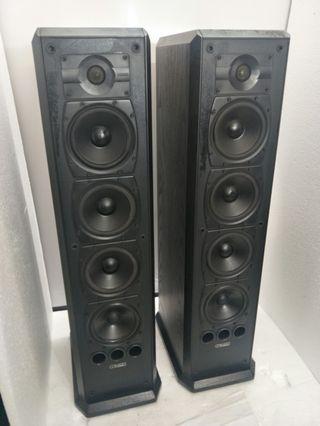 Mission 753 2Ways 4 Woofers Floorstanding Speakers