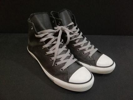 Converse high cut leather