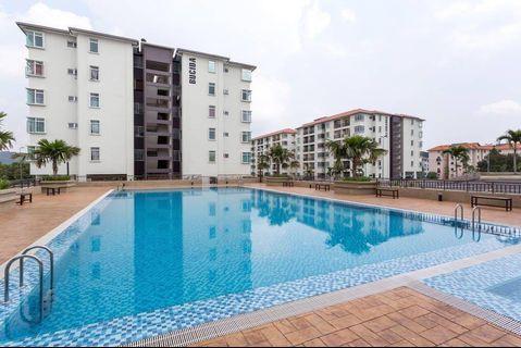 Apartment Residensi Warnasari 2 Puncak Alam Furnish