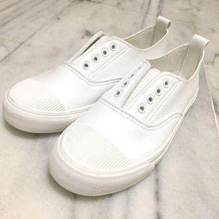 全新百搭懶人小白鞋
