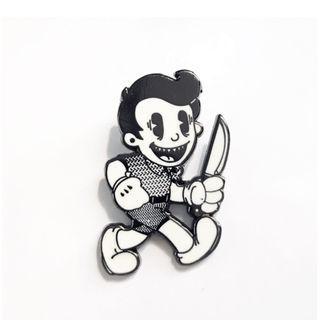 美國紐約 Strikegently 限量胸針 別針 胸章 徽章 pin 金屬 琺瑯 合金