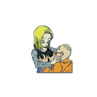 七龍珠 18號 龜仙人 惡搞趣味 胸針 別針 徽章 胸章 琺瑯 金屬 合金 pin topunk