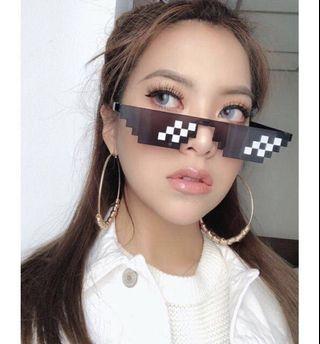 Ready Stock Thug Life Mosaics Sunglasses