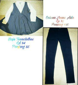 Celana jeans & dress panjang