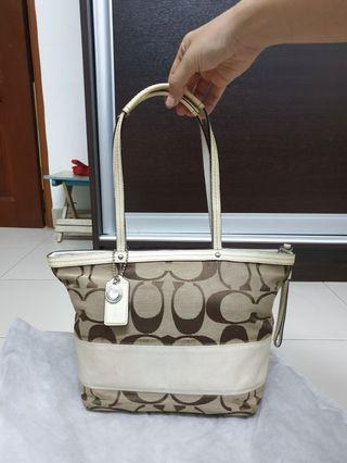 Coach Signature Tote Bag
