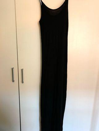 Cotton On Long Black Dress