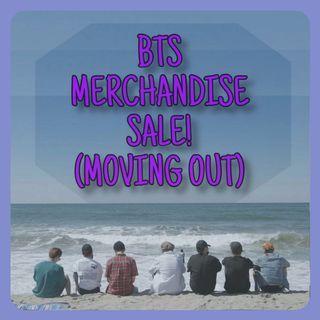 BTS MERCHANSIDE SALE (ALBUMS)