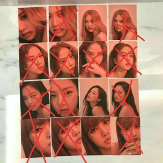 (WTB) (LF) LOOKING FOR WANT TO BUY BLACKPINK KILL THIS LOVE PHOTOCARD POLAROID ktl