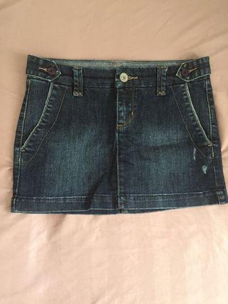 Armani Exchange Denim Skirt
