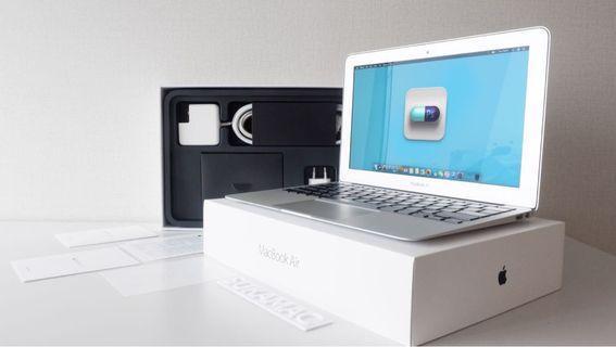 MacBook Air 11 inch MJVM2 ID 2015 Fullset