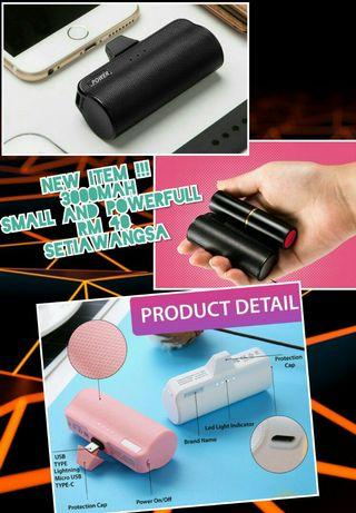 SMALL & POWERFULL POWERBANK (new item)
