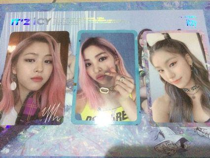 (WTS) Itzy it'z Icy official photocard