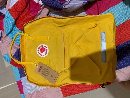(new) tas fjallraven kanken kuning ukuran L/20 L