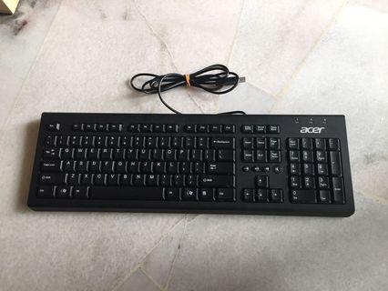 USB Keyboard Acer full size