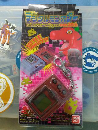 Digimon vpet 20th (bib)