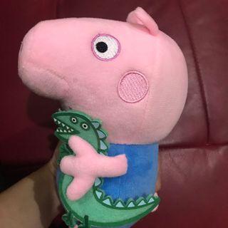 佩佩豬 喬治玩偶 娃娃