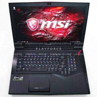 MSI Titan Pro GTX1080 - MSI GT75VR 7RF i7-7820HK GTX 1080 32GB 1.2TB SSD 17.3 FHD 120hz