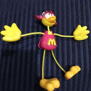 麥當勞絕版玩具2003年 大鳥姐姐